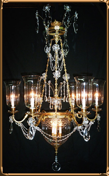 Neo Classical Signature Design by Chantelle Chandeliers